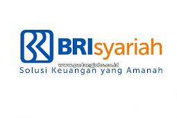 Lowongan Kerja Padang: PT. Bank BRI Syariah November 2018