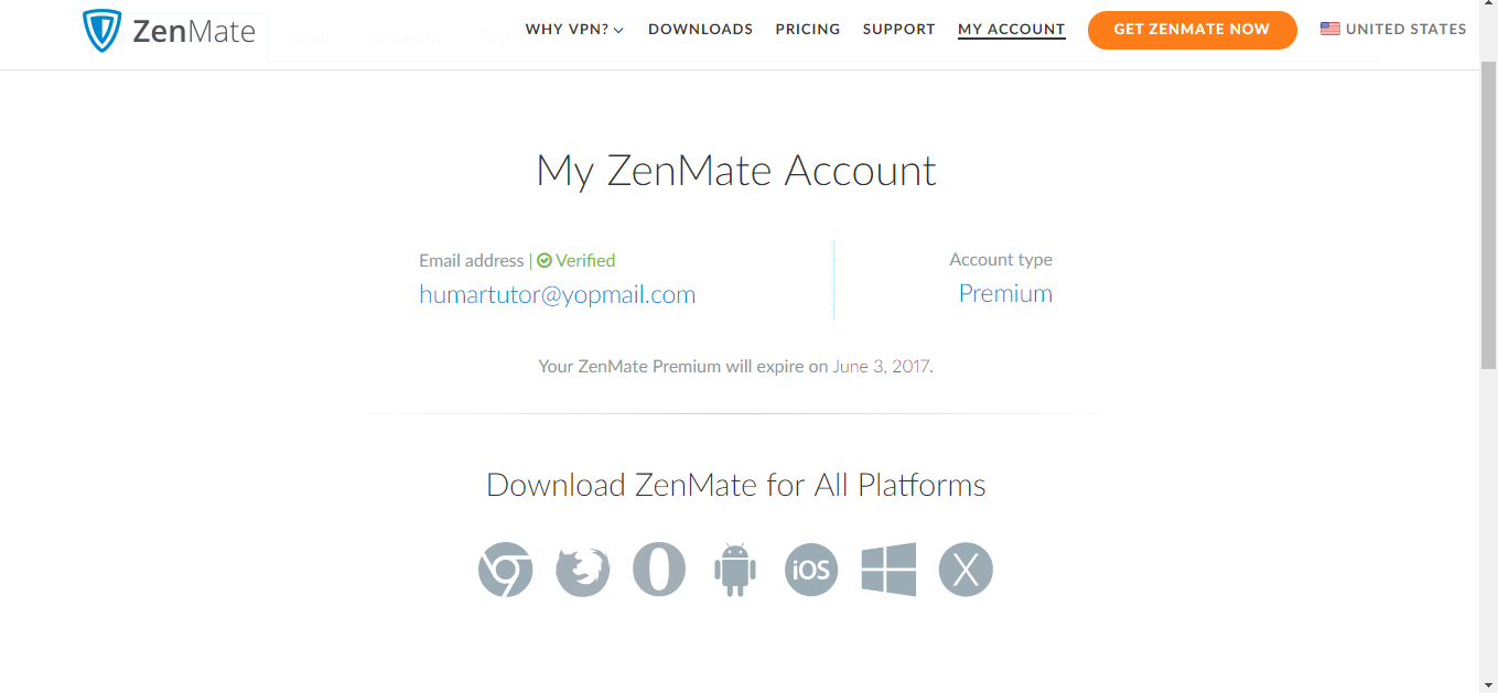 zenmate account txt