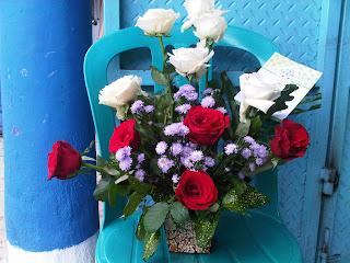 toko bunga lampung buket mawar murah