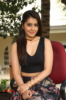 Actress Rashi Khanna Pictures at Hyper Movie Interview  0182