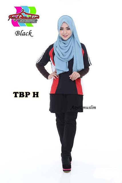 TRACK BOTTOM WITH SKIRT PLUSSIZE - SOLD OUT