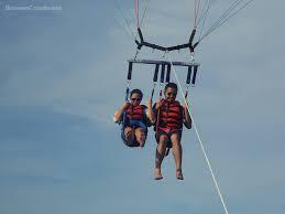 Murah parasailing dauble Bali