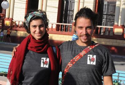 Raissa Capasso y Gabriel Kieling protagonistas del proyecto Etinerancias, de Brasil