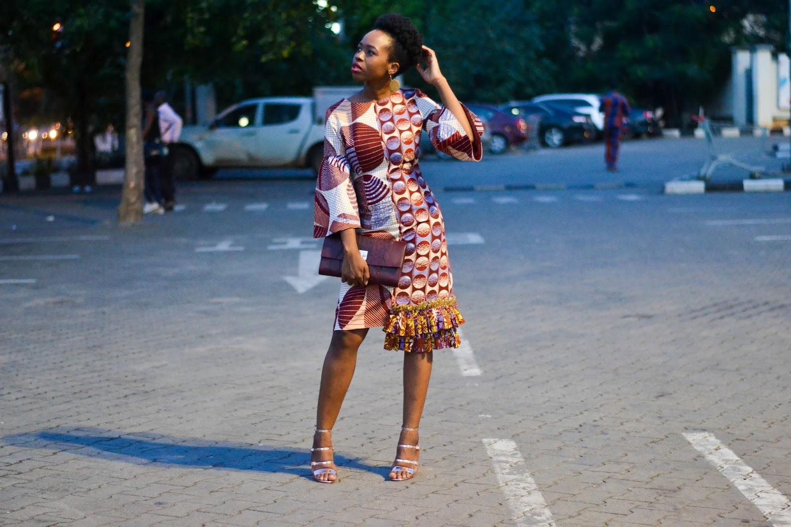 Midi Ankara Dress