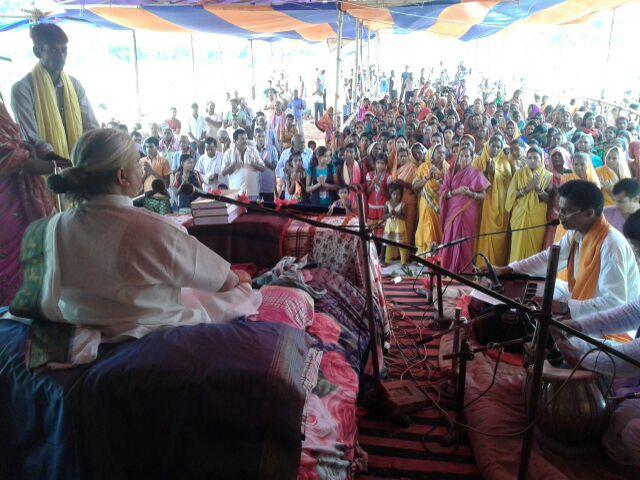 Swami Shri Dhananjay Maharaj.