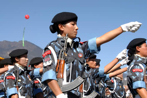 Армия Бутана