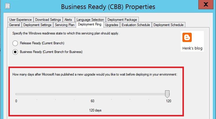 Windows  Deployment Rings Gpo