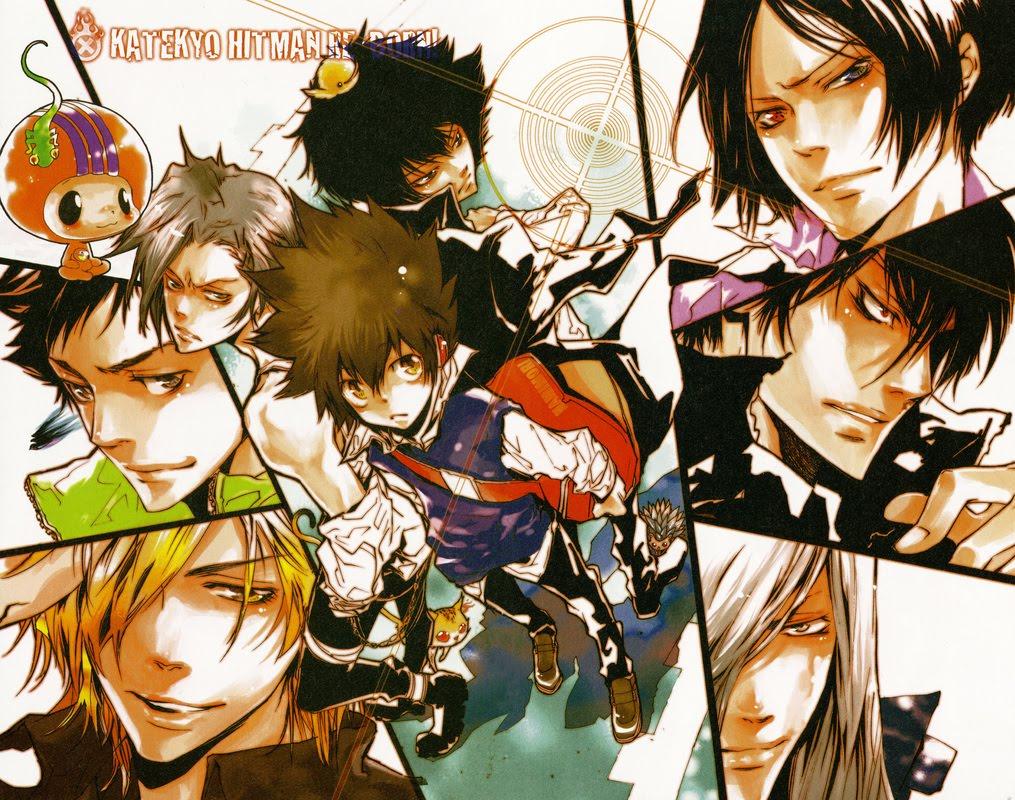 Manga Call Back Katekyo Hitman Reborn Blerds Online