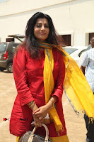 Tamil Actress Priya Raman Pos in Red Salwar Kameez at Producer Council Election 2017  0003.jpg
