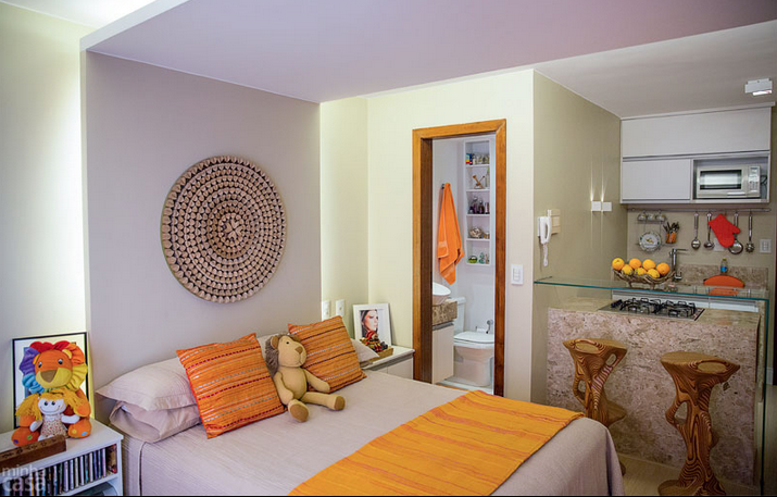 C mo dividir ambientes en peque os espacios decoraci n for Diseno de interiores espacios pequenos