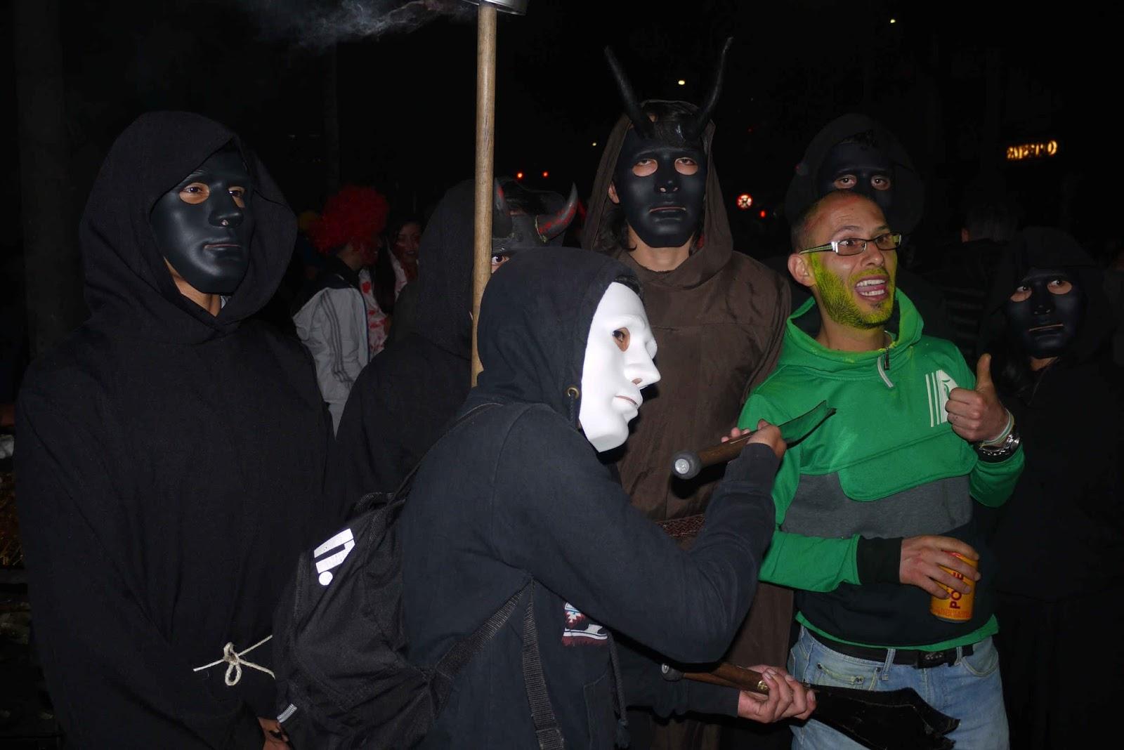 Mike's Bogota Blog: Halloween on La Septima