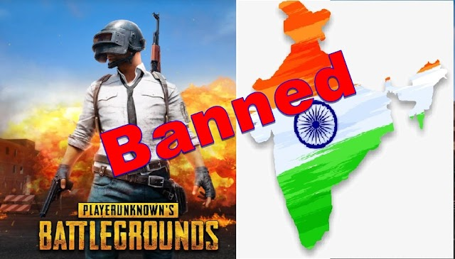 PUBG Mobile Game  Banned In India..?