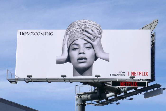 Beyoncé Homecoming extension billboard