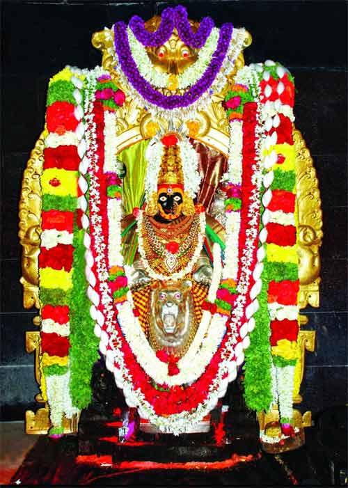 Goddess Banashankari - About Hindu Goddess Banashankari ...