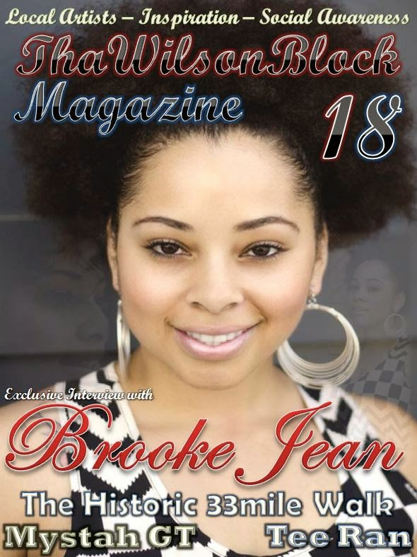 "ThaWilsonBlock Magazine Issue18 ""Brooke Jean"""