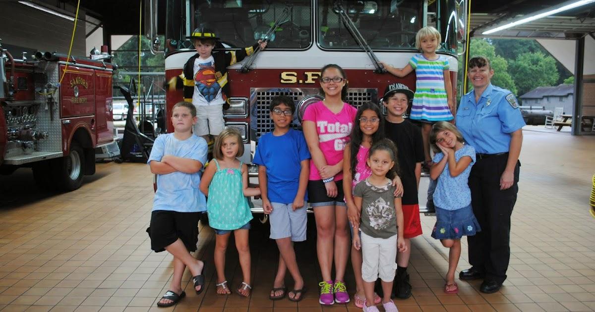 Community Tours The Sanford Fire Department City Of Sanford Nc