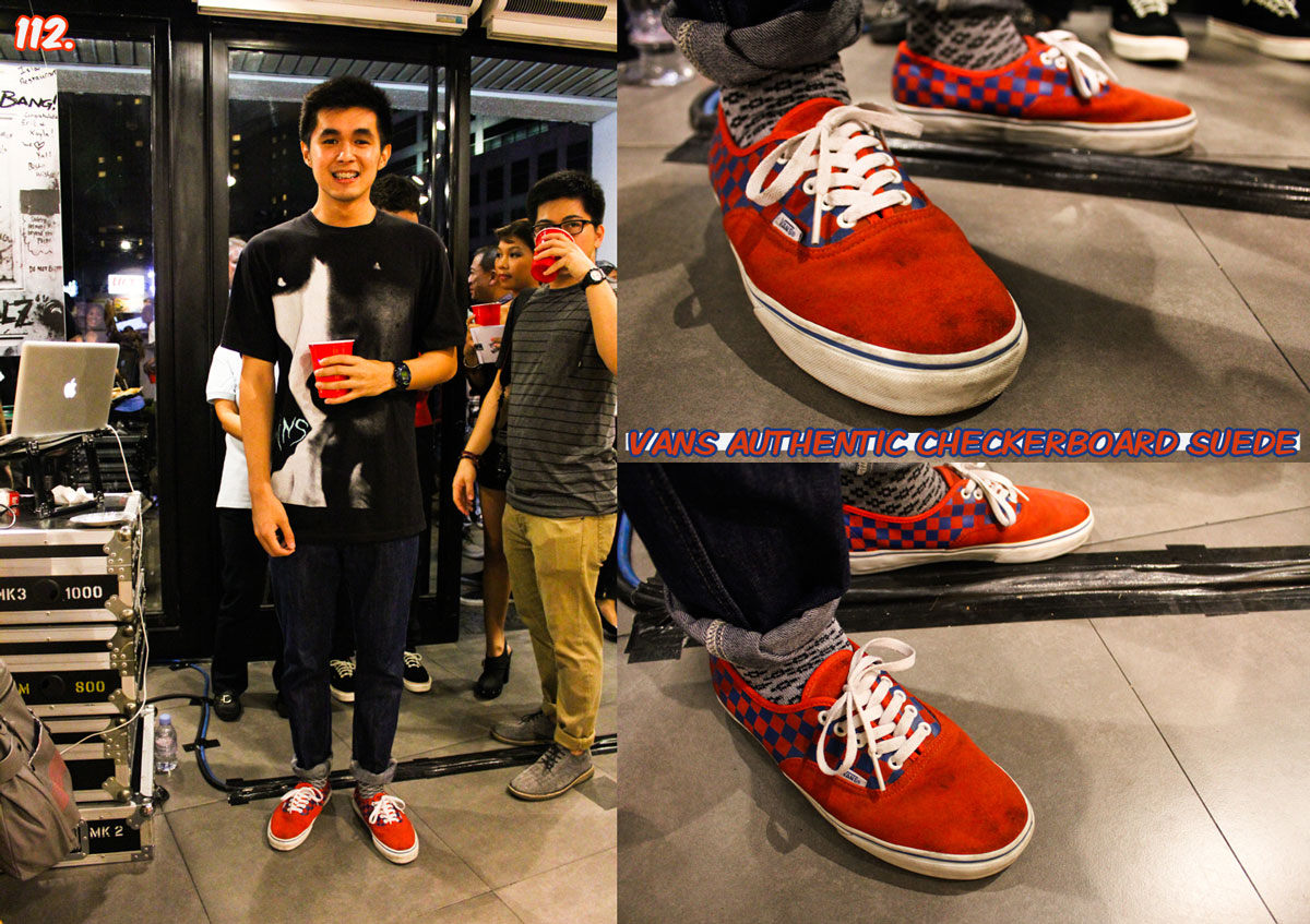 6dc10e7e88 Astron Sneaker Hunts  112. Vans Authentic Checkerboard Suede