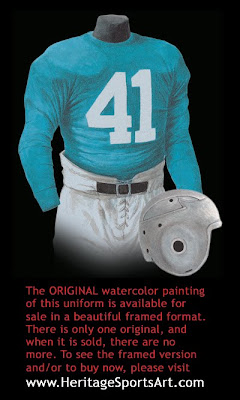 Detroit Lions 1938 uniform