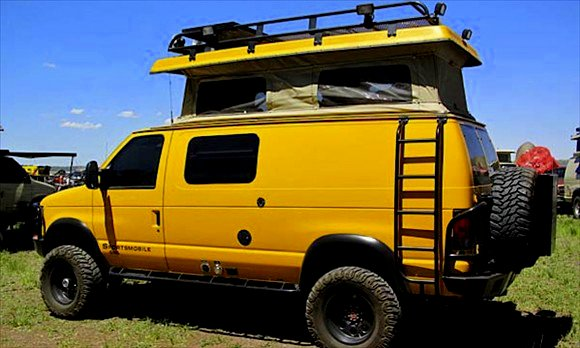 The Flying Tortoise Some Extreme Off Road Campers That