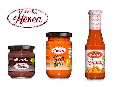Salsas veganas Olivera d'Atenea
