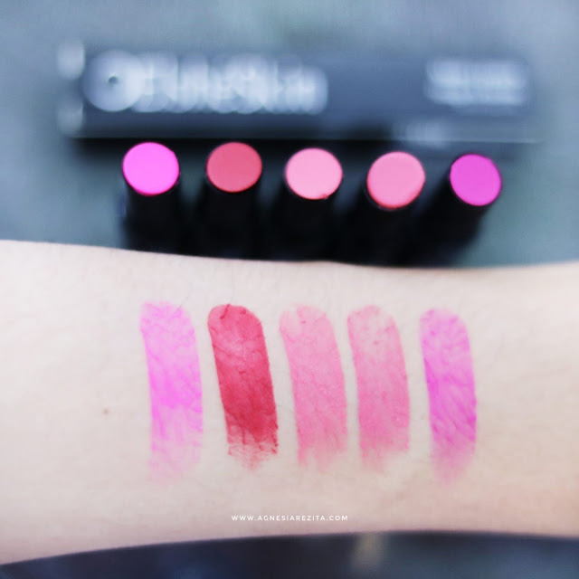 [Review] Elsheskin Matte Lipstick All Shades