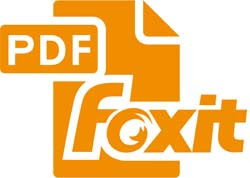 Foxit Reader logo,  icon- Best PDF Software And PDF Solutions