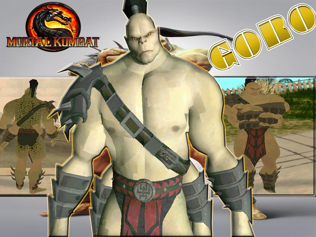 Goro Mortal Kombat Wallpaper