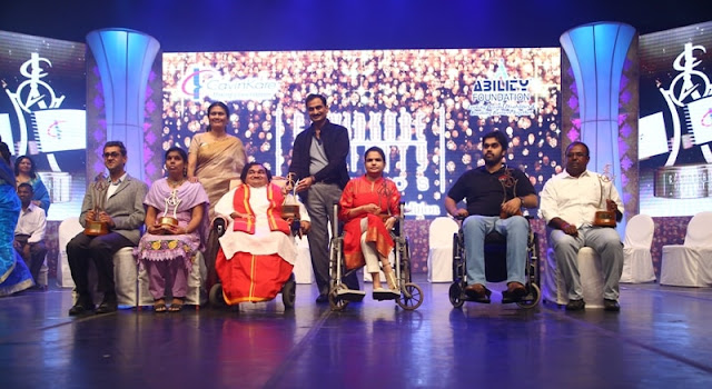 15 YEARS OF HONOURING EXTRAORDINARY ACHIEVERS WITH DISABILITIES CAVINKARE ABILITY AWARDS 2017