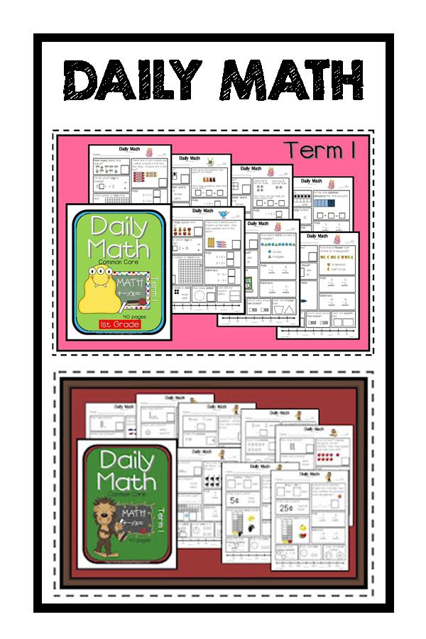 Lory's 2nd Grade Skills: Week 7 Math Programs / Organization