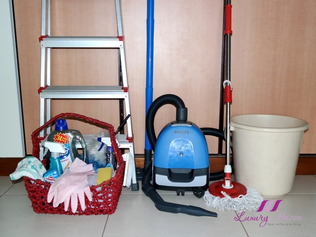 singapore part time maid service cleaning products