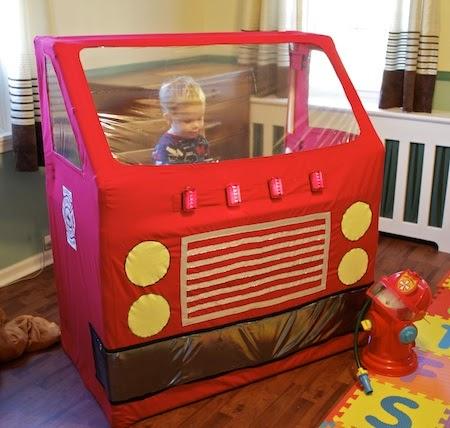 Ashbee Design Fire Engine Toddler Bed Diy