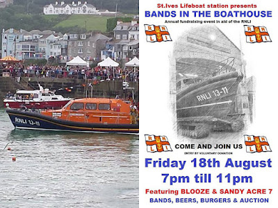 St Ives Cornwall - Lifeboat Day 2017