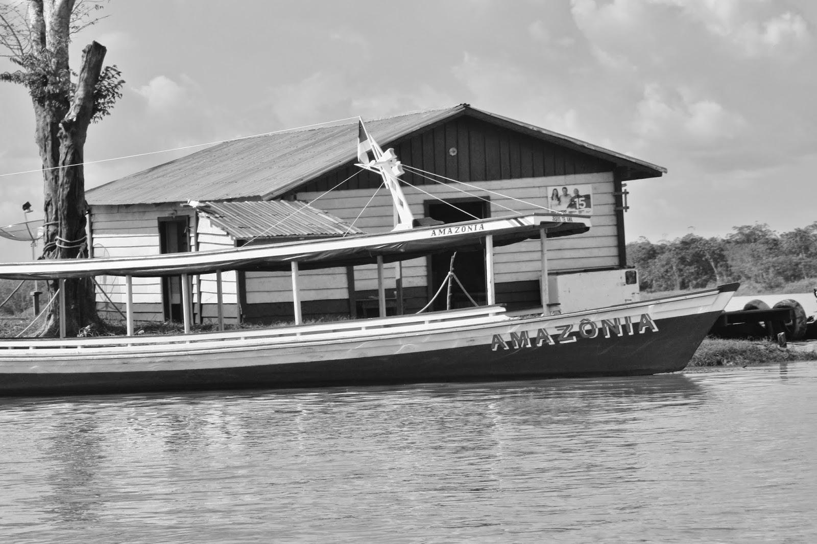 Experiência de turismo de base comunitária na Reserva Sustentável Mamirauá.