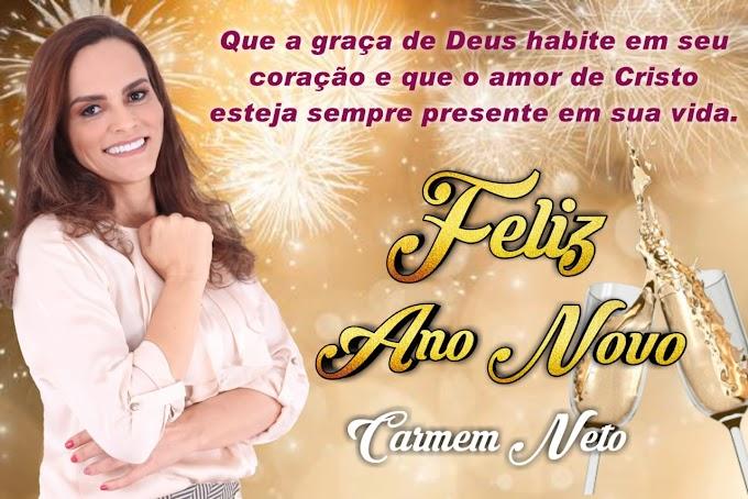 Mensagem de final de Ano da ex-prefeita Carmem Neto