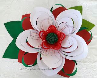 Flor gigante - Natal