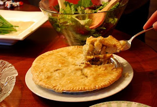 Double Crust Clam Pie Seafood Pie