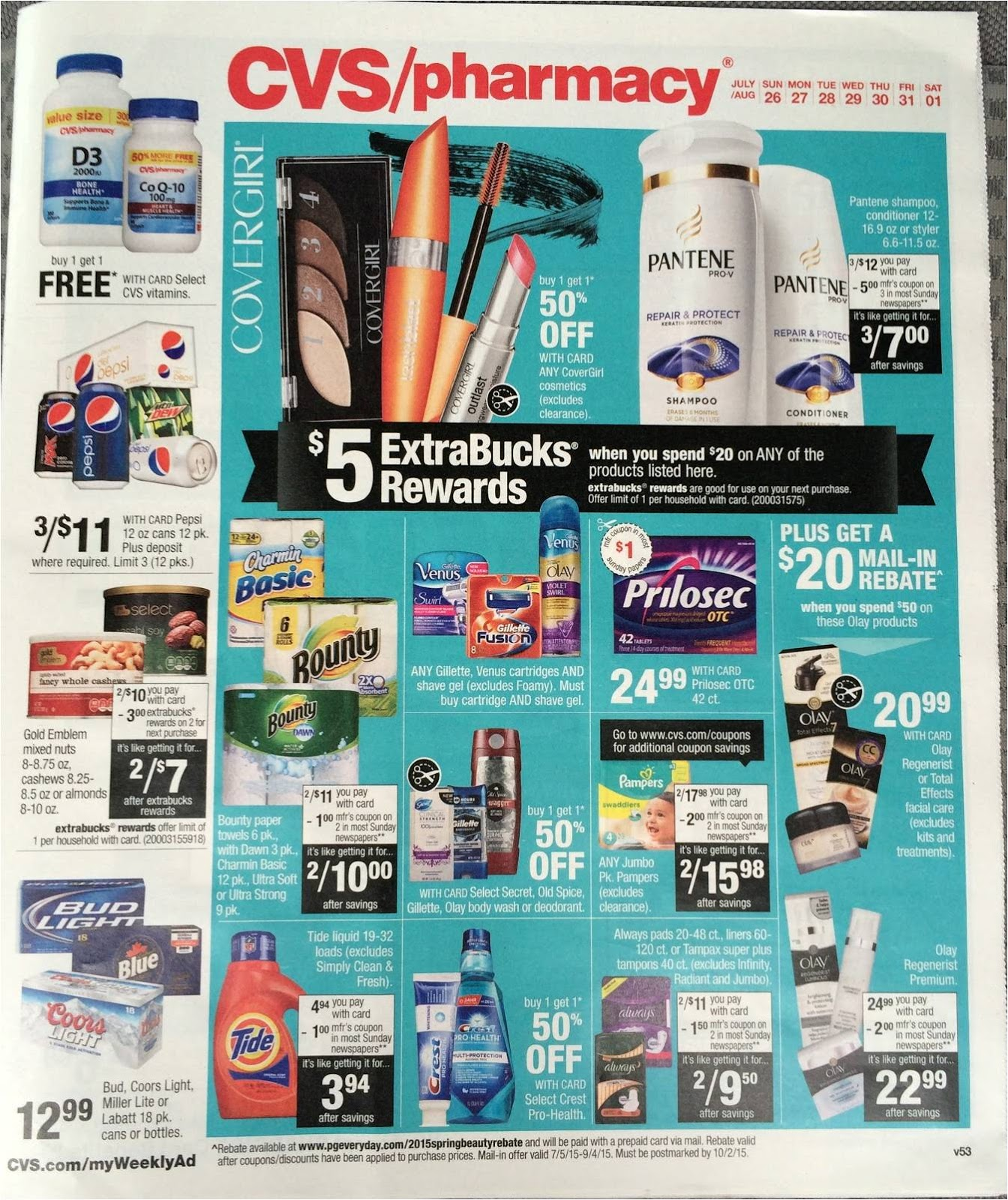 Simply CVS: CVS Ad Scan Preview for the Week of 7/26/15