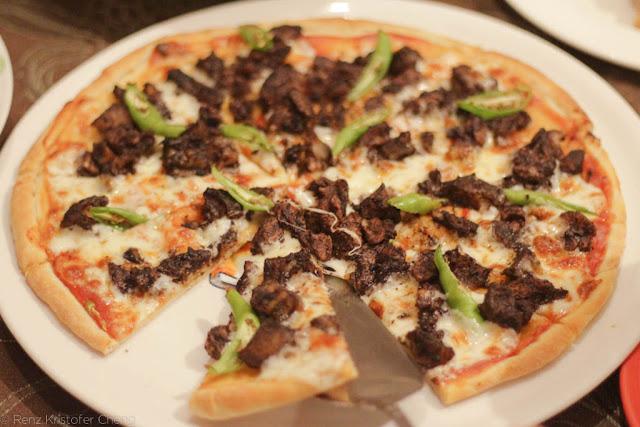 Saramsam Dinuguan Pizza - Filipino Food