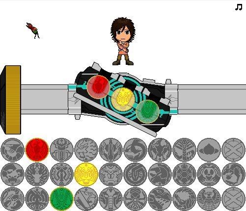 Kamen Rider OOO Driver (FLASH)