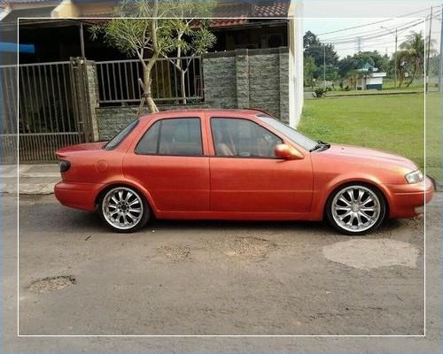 Modifikasi Mobil Timor Warna Hitam