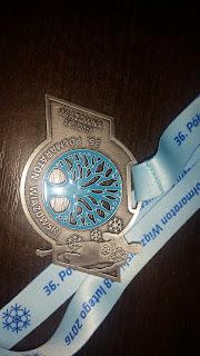 Medal XXXVI Półmaraton Wiązowna