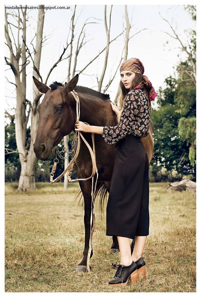 Moda invierno 2016 ropa de mujer Sans Doute. Moda 2016 mujer.