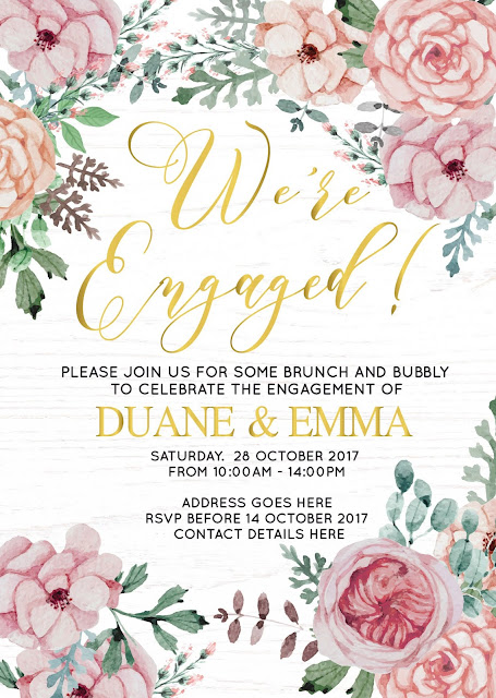 Floral-Champagne-Brunch-Engagement-Party-Invitation
