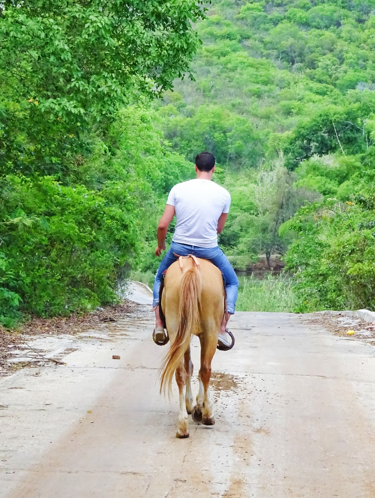 Balade à cheval, Trinidad - Cuba