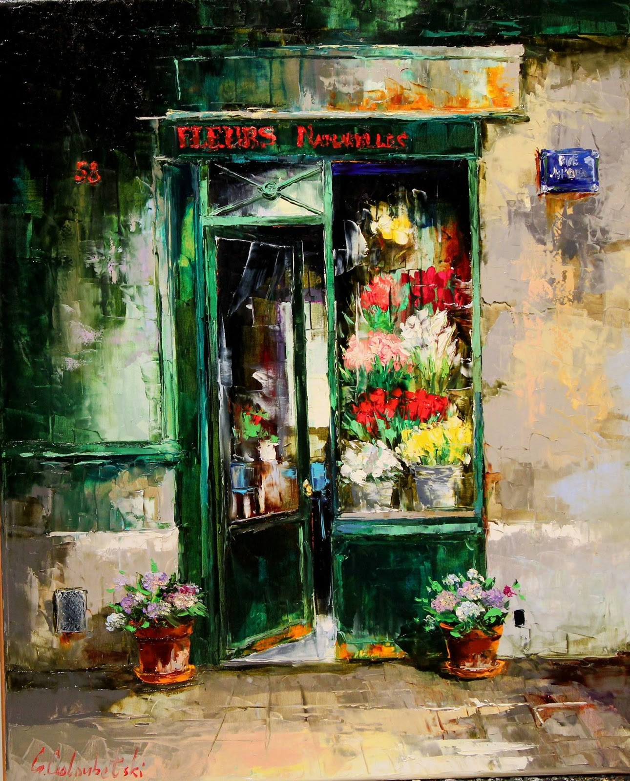 Gleb Goloubetski Fleurs naturelles