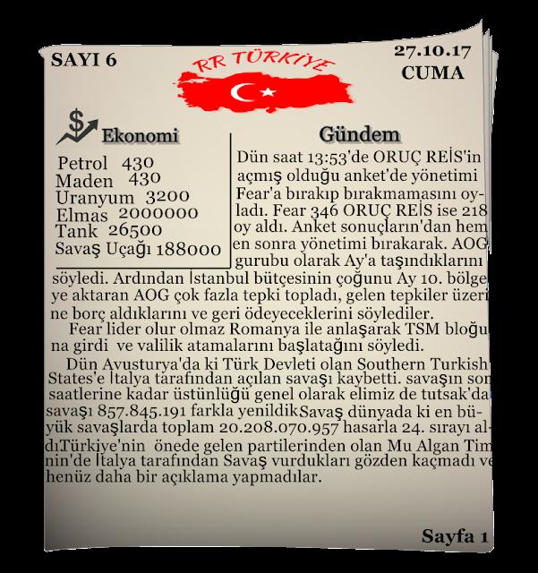 RR Türkiye 6.sayı