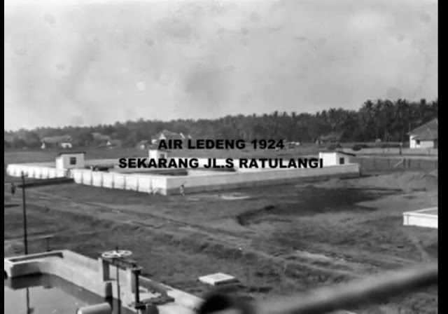 Air Ledeng 1924 (Sekarang Jl.S Ratulangi)