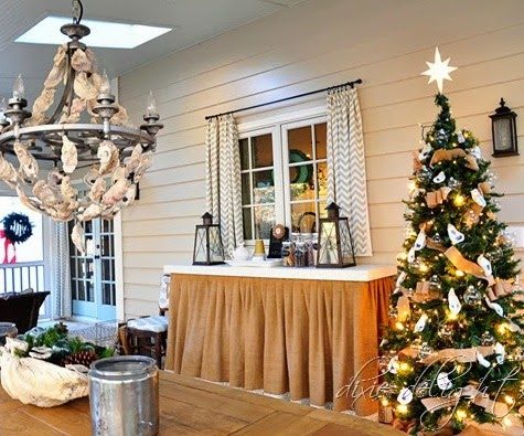 coastal Christmas in a Southern Home