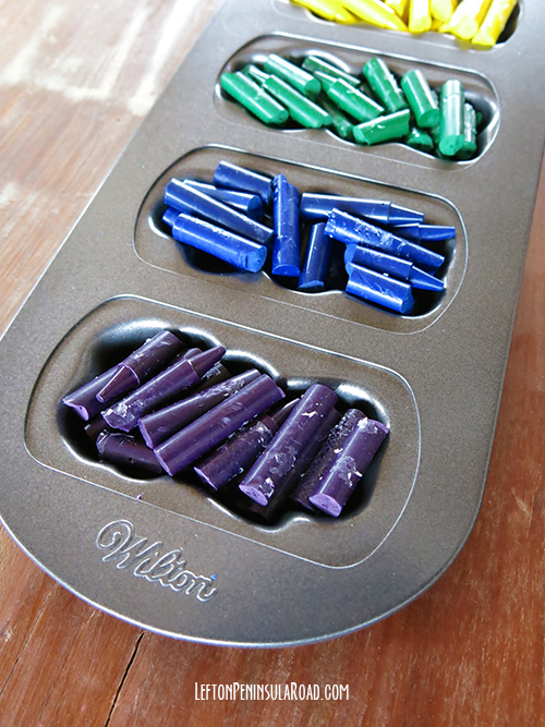Make It Bunny Shaped Crayons For Easter Left On