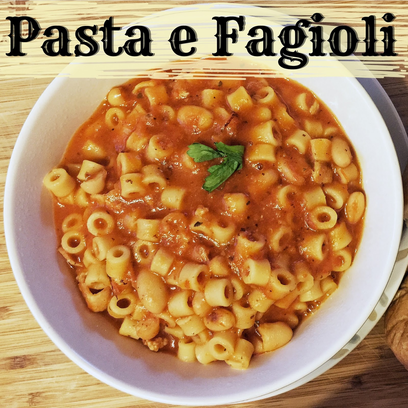 pasta e fagioli recipes 30 minute pasta and kidney bean soup pasta e ...